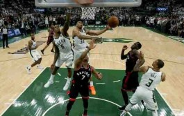 Hasil NBA: Bucks Bungkam Raptors di Game 1 Final Wilayah Timur